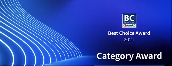 best choice category Award